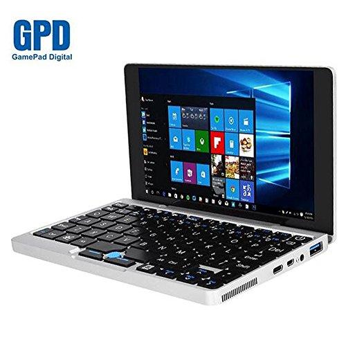 GPD Pocket 7 Inch Aluminum Shell Mini Laptop UMPC Windows 10 System CPU x7-Z8750 8GB/128GB