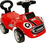 GDToys  Mega SpeedR Rutschauto Rutscher Bobby Car Kinderfahrzeug Kinderauto/ 4 Farben/ Hit!! (Rot)
