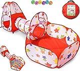 Nubuni - Estrellas - Tienda Juego Infantil Niño Niña Bebé 3 Piezas...