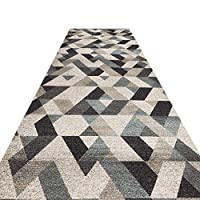 Carpet Runner Runner Rug For Hallway - Rugs Runners Kitchen Runner Non-slip Kitchen Available In The Hotel Corridor Entry Fabric Soft And Modern Minimalist GFMING (Color : D, Size : 0.8 * 5m)