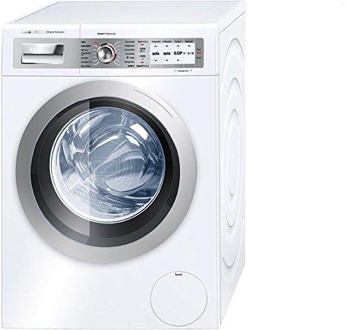 Bosch WAY32842 Waschmaschine FL / A+++ / 137 kWh/Jahr / 1600 UpM / 8 kg / 10120 Liter/Jahr / Stufenlose Mengenautomatik /Beladungsanzeige mit direkter Dosierempfehlung / weiß
