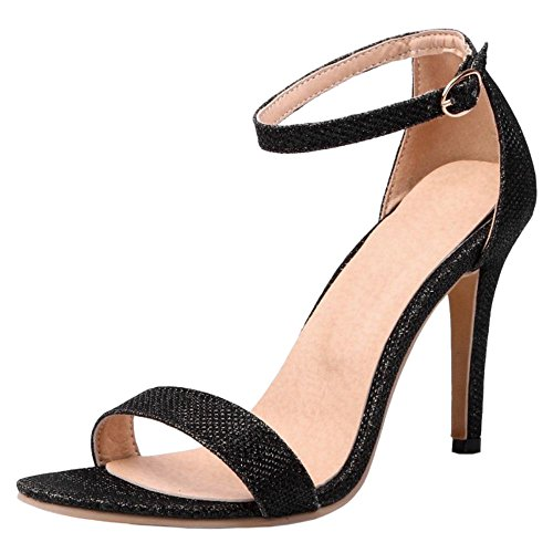 TAOFFEN Damen High Heels Sandalen Party