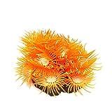 Greenlans Künstliche Kunststoff-Pflanze Künstliche Aquarium-Dekor, Korallen-Gras-Dekoration für Aquarium Ornament aquascape