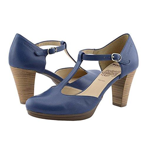 Wonders Chaussures I-3364-18 Merveilles Bleu