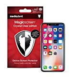 MediaDevil Screen Protector for Apple iPhone XS and iPhone X - Crystal Clear Edition Film (2-Pack)