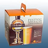 Homebrew & Wine Making - Festival Premium Ale - Golden Stag Summer Ale - 40 Pint Home Brew Beer Kit