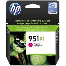 HP 951XL - Cartucho de tinta Original HP 951XL de álta capacidad Magenta para HP OfficeJet Pro 251dw, 276dw, 8100, 8600, 8600 Plus, 8610, 8615, 8620
