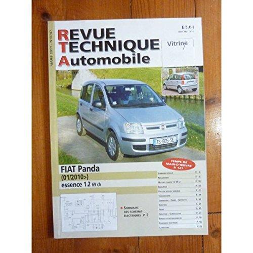 Rta-revue Techniques Automobiles - Panda Ess 10- Revue Technique Fiat Etat - Bon Etat par RTA