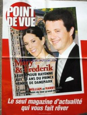 AFFICHE DE PRESSE [No 2917] du 16/06/2004 - MARY ET FREDERICK AU 70 ANS DU PRINCE HENRIK DE DANEMARK ET AUSSI WILLIAM ET HARY.