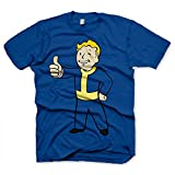 Gaya Entertainment T-Shirt Fallout - Vault Boy Thumbs up [blau,XXL]