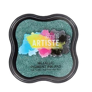 Artiste Stempelkissen - Metallic Pigment Ink Pad Evergreen