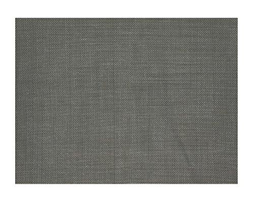 Set de Table Tressé PVC Gris - Set de 6