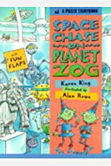 Space Chase on Planet Zog (A Puzzle Storybook) Hardcover