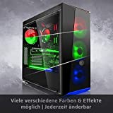 Megaport High End Gaming PC AMD Ryzen 7 1800X 8 x 4.00 Turbo • Nvidia GeForce GTX 1080 8GB • 500GB SSD Samsung 850 Evo • 16GB DDR4 • Windows 10 • WLAN gamer pc computer gaming computer - 2