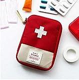 Tasche medizinisches Notfall, remng Federmäppchen Erste-Hilfe-Rucksack Taktik für Reisen, rot, L