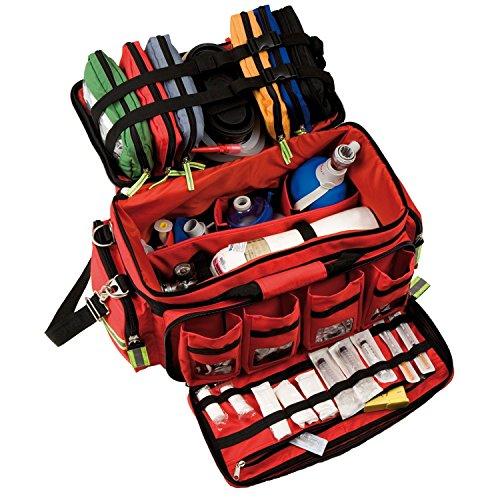 Elite Bags CRITICAL\'S First-Respondertasche Notfalltasche Rot 60 x 26,5 x 33 cm