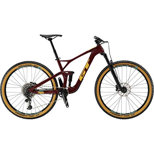 "51PO1f5a7bL. SS500  - GT 29"" M Sensor Crb Expert 2019 Complete Mountain Bike - Wine Red"