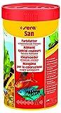 Sera 00250 san 250 ml - das Farbfutter aus schwimmenden Flocken