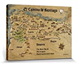 1art1 57586 Jakobsweg - EL Camino De Santiago Anno 1445,