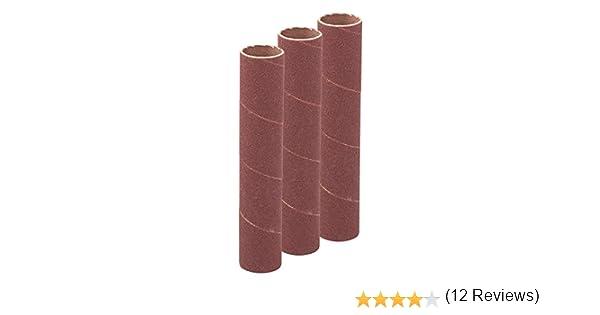 Silverline 274470 Ensemble de 3 Manchons de pon/çage 90 x 51 mm Grain 80