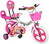 #4: Taboo Pink & White Bicycle For Kids