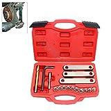 HG® Bremssattel Gewinde Reparatur 16-teilig Führungsbolzen Werkzeug M9 * 1,25 Bremse VW Golf Audi VAG OPEL FORD