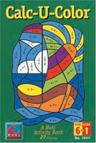 Calc-U-Color Buki Book by Poof Slinky (Schauen Slinky)