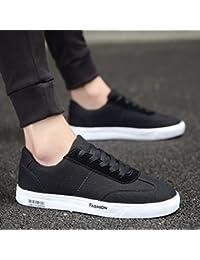 YaNanHome Chaussures Bateau Chaussures Homme Nouveau Style Respirant  Chaussures de Toile de Style Coréen Tendance Sauvage c10a9e67d27a