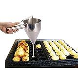 FLAMEER Edelstahl Dosiertrichter für Küche Creme Hotel Kuchen