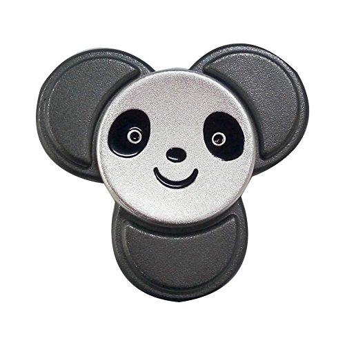 #MULGORE Fidget Spinner Metall Tri Hand Spinner Toys Spielzeug Hot Explosion 2017 High Speed 1-5 Min Spins Panda Style Best Neuheit Spinning Top für Made mit Premium Qualität#