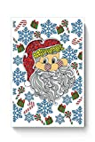 PosterGuy Santa Claus Meery Christmas Merry Christmas, Christmas, Xmas, Santa, Candy Cane , Gift, Snowflake,Lollypop Poster