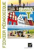 Einblick Allemand Tle éd. 2012 - Fichier pédagogique