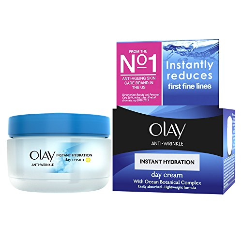 Olay Anti-Wrinkle Instant Hydration Moisturiser Day Cream- Creme de jour - 50 ml