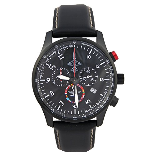 Junkers Men's Quartz Watch with Chronograph Limited Edition Nato Alliance 35802
