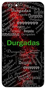 Durgadas (Servant ( A Devotee ) Of Godess Durga) Name & Sign Printed All over customize & Personalized!! Protective back cover for your Smart Phone : Apple iPhone 5/5S