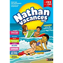 Cahier de Vacances 2018 du CE2 vers le CM1 - Nathan Vacances - 8/9 ANS