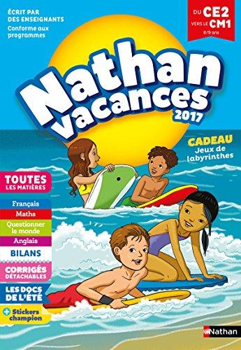 Cahier de Vacances 2018 du CE2 vers le CM1 - Nathan Vacances - 8/9 ANS par Pascale Chavanette-Iglésias