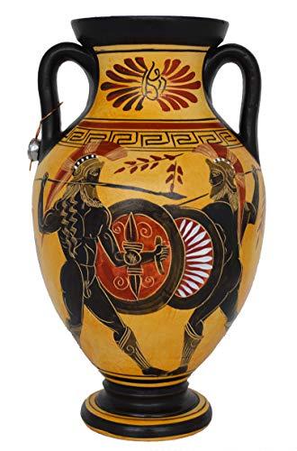 Talos Artifacts Vase für Rökische Kriegsbekämpfung, antike griechische Mythologie, Homer - Griechische Vasen