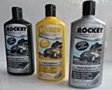 6x Autopolitur 500 ml, Hochglanzversiegelung Rocket 9,00 EUR/Liter
