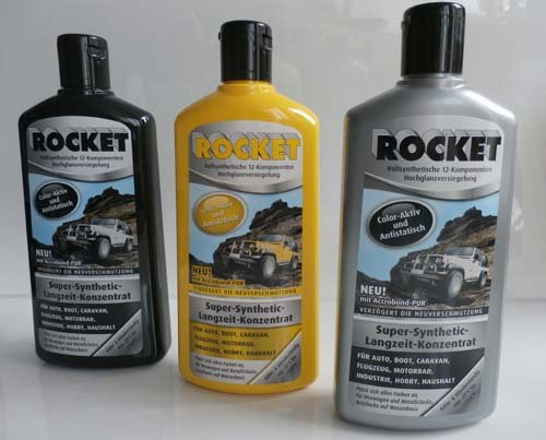 ORIGINAL Rocket Autopolitur 500ml