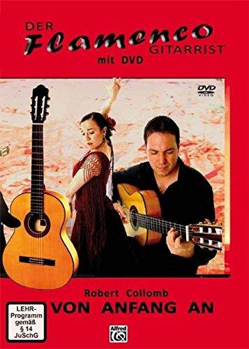 Preisvergleich Produktbild Der Flamenco Gitarrist Buch/DVD - Von Anfang an!