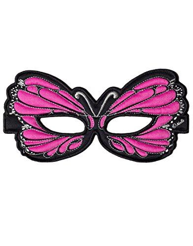 Dreamy Dress-Ups 50769 Mask, Stoffmaske, Pink Butterfly, Schmetterling rosa (Halloween-kostüm Butterfly Pink)