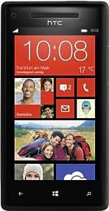 HTC Windows Phone 8X Smartphone (10,9 cm (4,3 Zoll) Super LCD Touchscreen, 1,5 GHz Dual-Core-Prozessor, 1 GB RAM, 8 Megapixel Kamera, 16 GB interner Speicher, NFC-fähig, Windows Phone 8 OS) schwarz