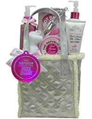 BTW RPB9008 QS Coffret de Bain Argent The Republic of Pink Bliss Grenade