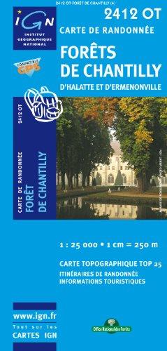 2412OT FORETS DE CHANTILLY D'HALATTE ET D'ERMENONVILLE