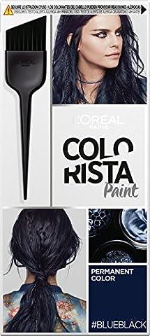 L 'OREAL PARIS colorista Paint coloration permanente Bleu, noir