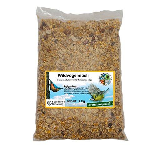 Wildvogelfutter Streupaket mit 5 Sorten Futter je 1kg -