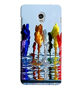 Lenovo VIBE P1 MULTICOLOR PRINTED BACK COVER FROM GADGET LOOKS