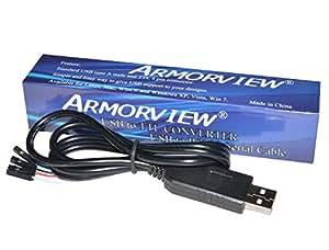 JMT PL2303HX USB transfert vers TTL RS232 Serial Port Adapter Cable Module PL2303 Console récupération mise à niveau