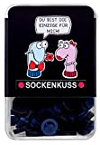 Sockenkuss schwarzblau - Nie mehr Socken sortieren (INKL. MONTAGEHILFE) *NEU